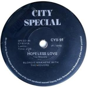 Blondie Makhene with The Movers -hopeless love