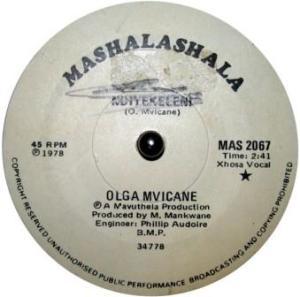 Olga Mvicane -Ndeyelekini