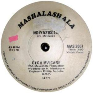 Olga Mvicane -Ndiyazisola