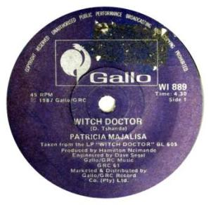 Patrica Majalisa -witch doctor