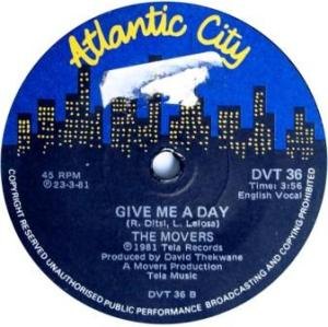 The Movers -give me a day