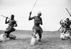 Xhosa dancers