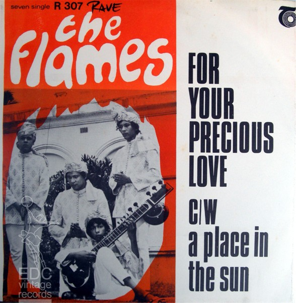 The flames for your precious love lyrics