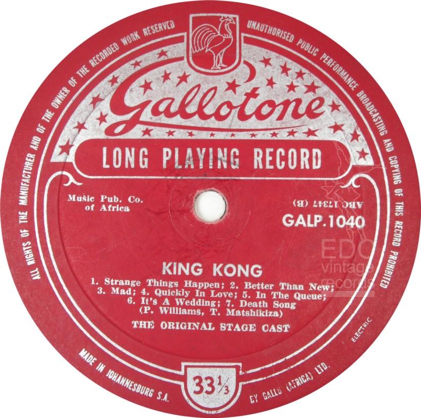 king kong – Soul Safari