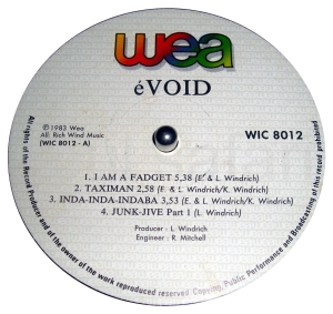 eVoid label