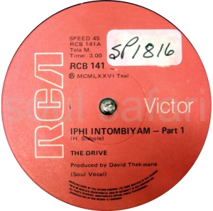 The Drive -Iphi Intombiyam Pt 1 label