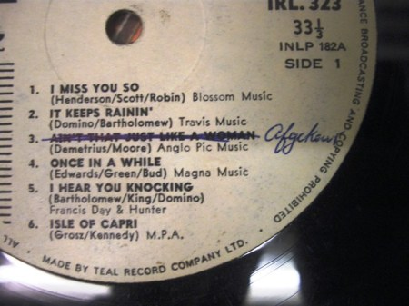 fats domino label -banned track detail