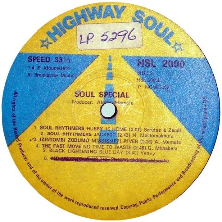 Soul Special label side 2