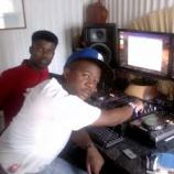black motion in studio