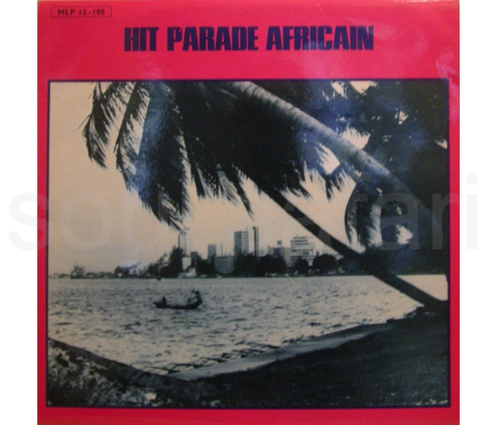 hit parade africain cover voor