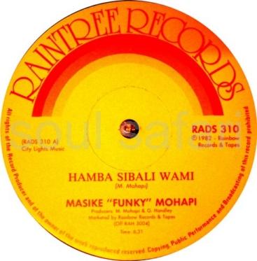 Masike Funky Mohapi Gomora