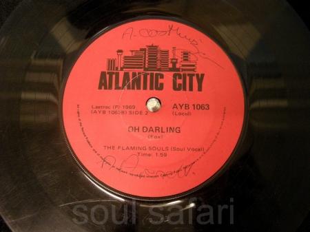 the flaming souls -oh darling AYB1063