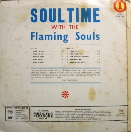 the flaming souls -soul time back