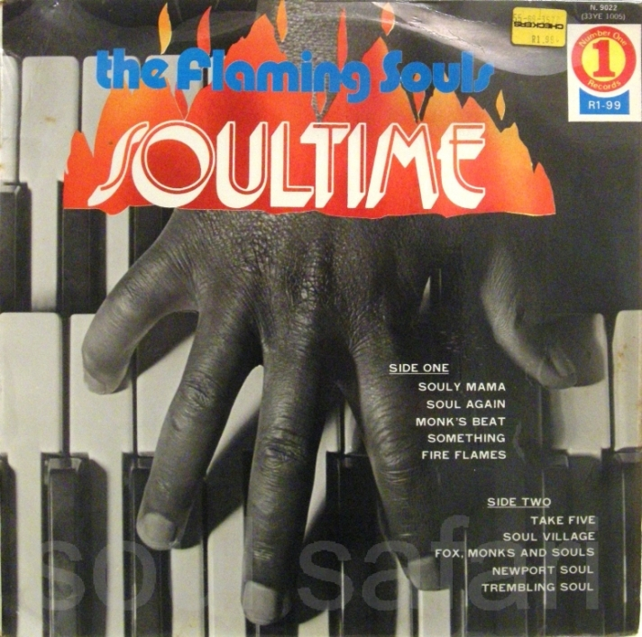 the flaming souls -soul time cover