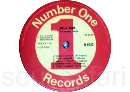 the flaming souls -soul time label 1
