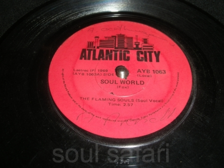 the flaming souls -soul world AYB1063