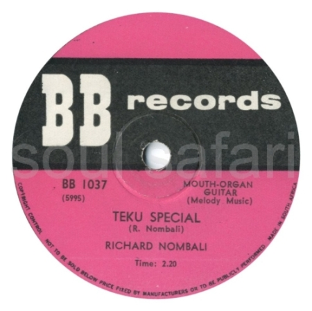 Richard Nombali -Teku Special label