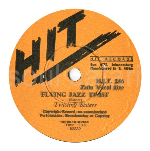 Twisting Sisters -Flying Jazz Twist label