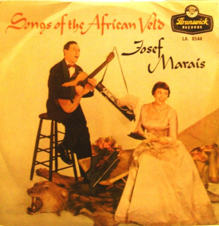 josef marais -songs of the african veld gecomp