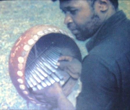 ephat mujuru plays the mbira