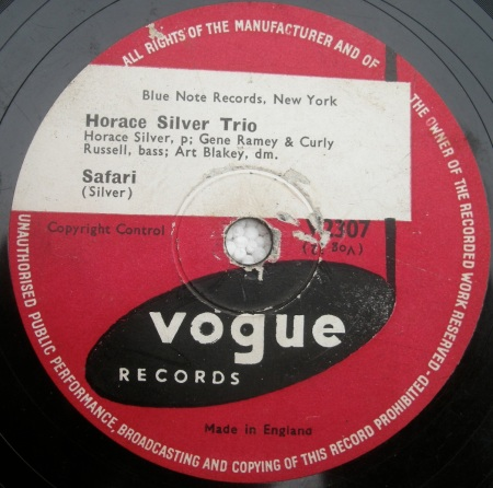 Horace Silver Trio -Safari