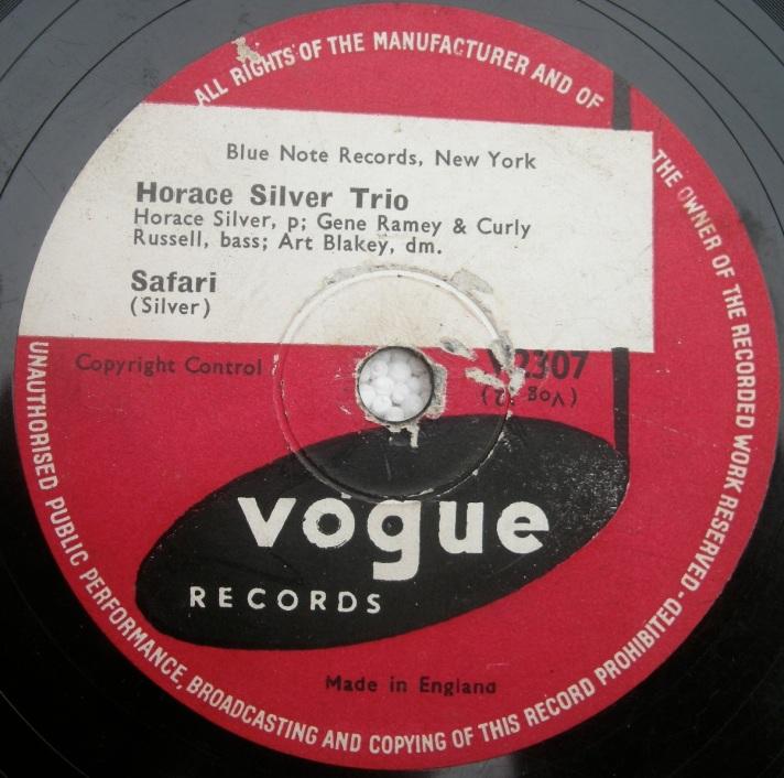 Horace Silver Trio -Safari
