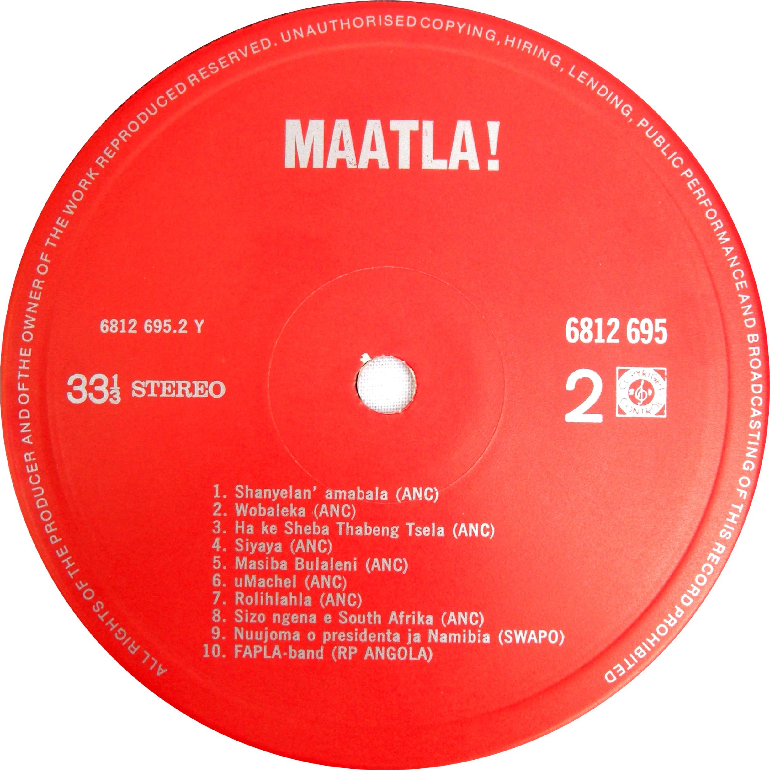 Maatla Label