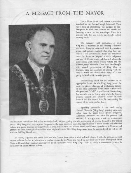 king kong london programme titel pagina 2