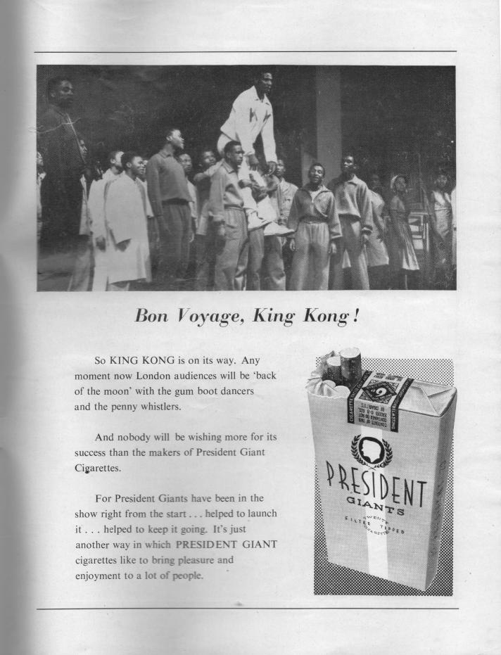 king kong london programme titel pagina 20