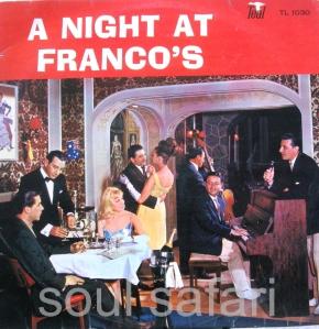 a night at Franco's