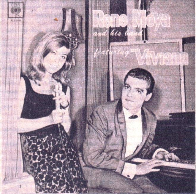 Rene Moya & His Band feat Viviana LP  cover