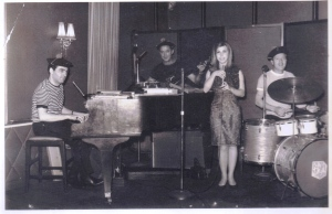 Viviana +RéneMoya band at The Mikado restaurant Johannesburg 1965