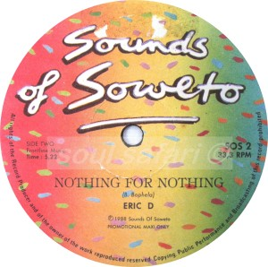 Eric D -Nothing For Nothing watermark