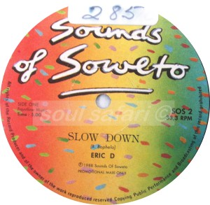 Eric D -Slow Down watermark