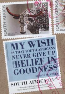 stamps South Africa 2015