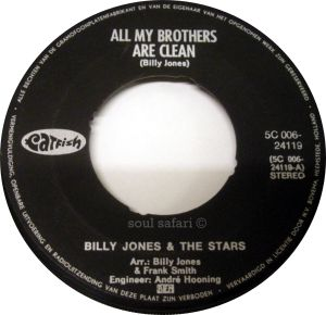 billy jones & the stars -all my brothers are clean label watermarked