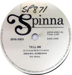 Abigail Kubekha -Tell Me