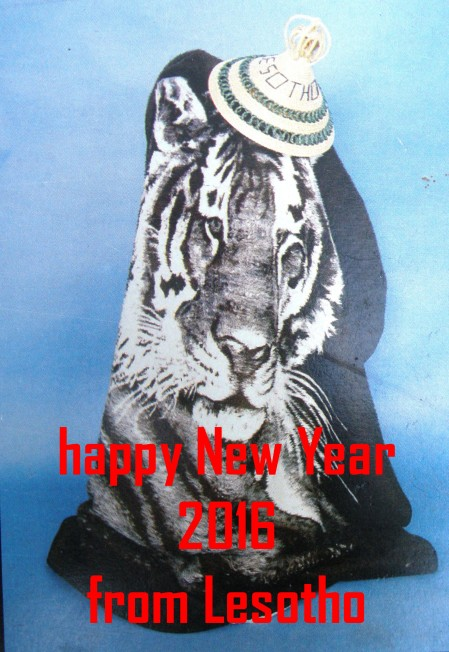 Happy New Year 2016 from Lesotho 2