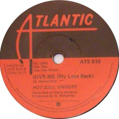 hot soul singers -give me (my love back)