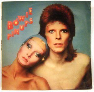 bowie pinups -cover