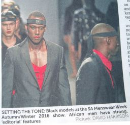 SA Menswear Week Autumn 2016