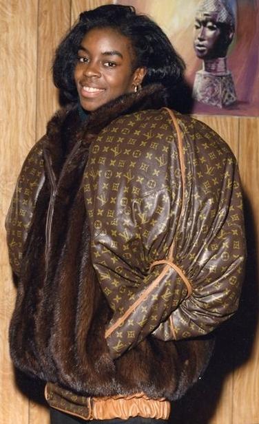 Diane Dixon coat by Dapper Dan