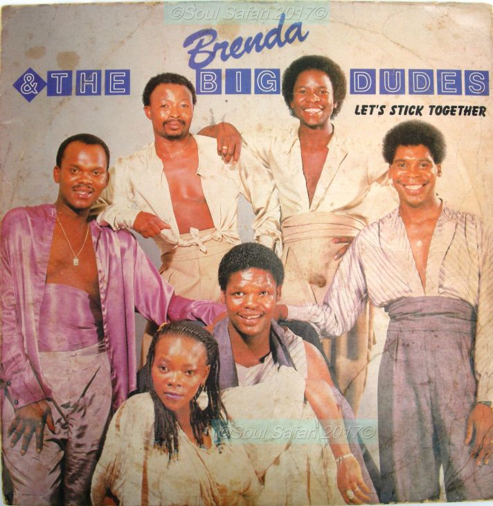 brenda & the big dudes -let's stick together cover front watermarked