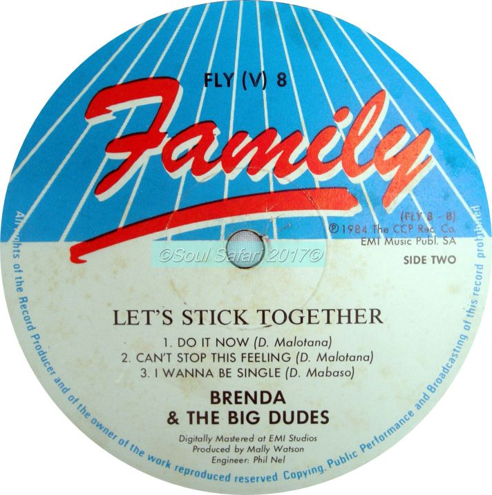 brenda & the big dudes -let's stick together label B watermarked