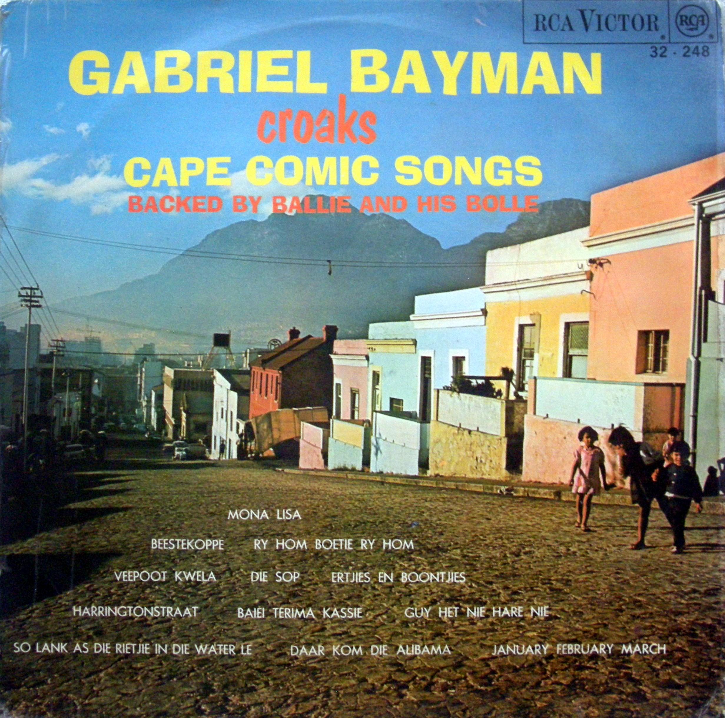 Gabriel Bayman Cape Comic songs cover