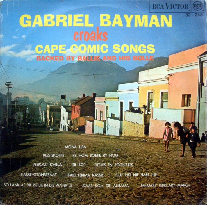 Gabriel Bayman Cape Comic songs cover