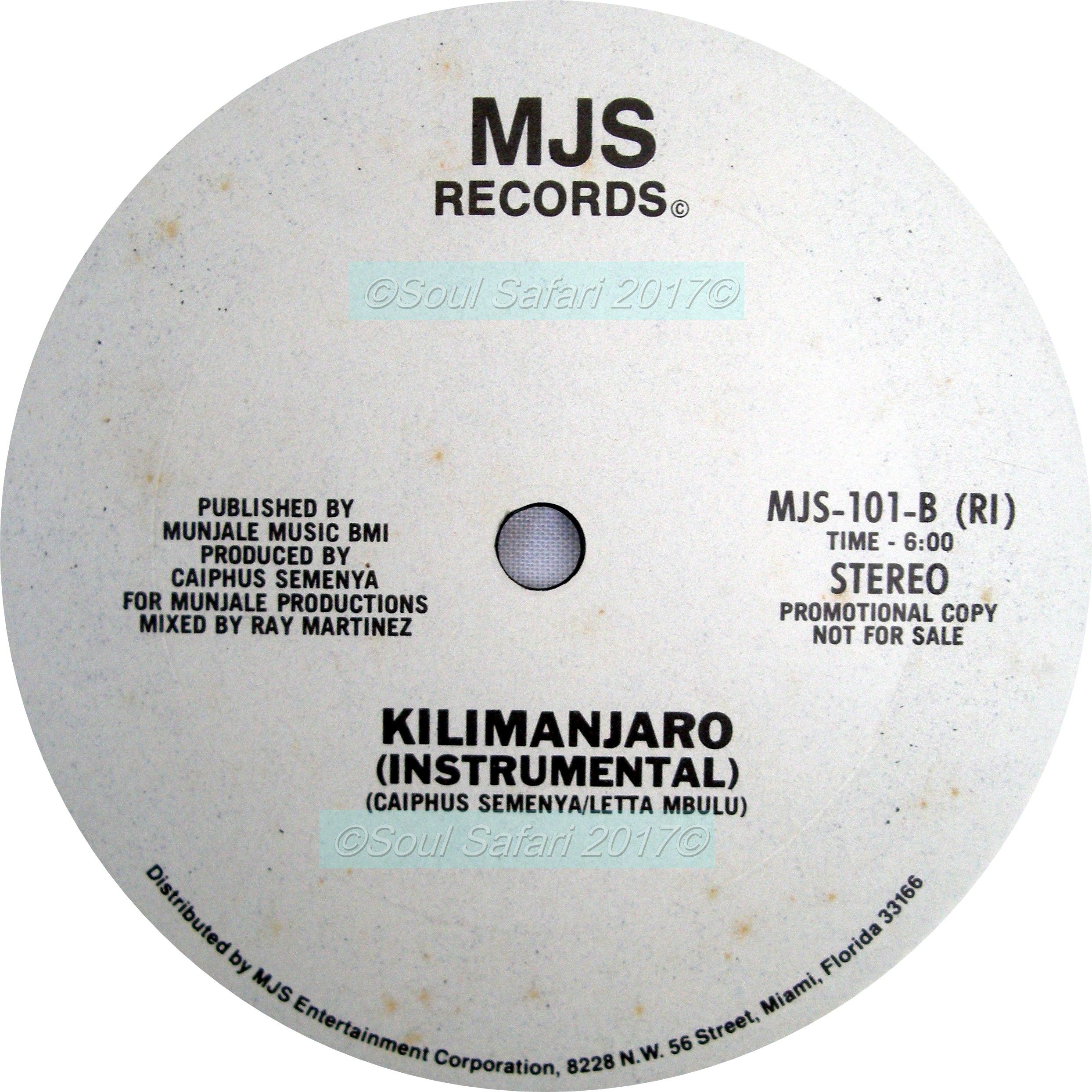 Letta Mbulu -Kilimanjaro B side watermarked