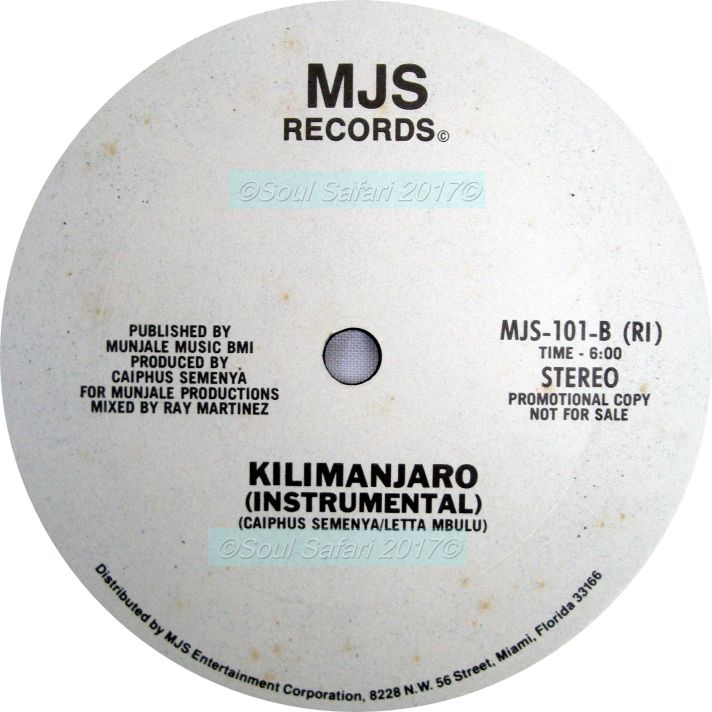 Letta Mbulu -Kilimanjaro B side watermarked