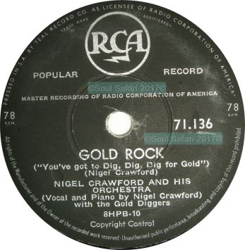 nigel crawford and his orchestra -gold rock label watermarked