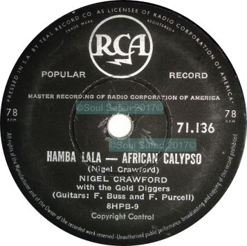 nigel crawford and his orchestra- hamba lala watermarked